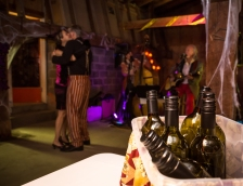 Halloween wine tasting event along the Naramata Bench for the Van Westen Vintage Vertical of all 50+ wines created by this local, family operated vineyard and winery.